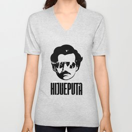 Hijueputa Funny Escobar Gift For Colombian Lovers Unisex V-Neck