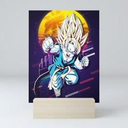 Gohan Dragon Ball Mini Art Print