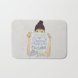 Positive about Ambiguity Bath Mat