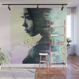 CONTEMPLATION FOREST Wall Mural
