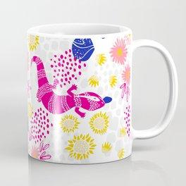Paint me Pink - Blue Tounge Lizards Coffee Mug