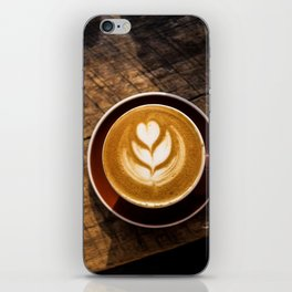 That Perfect Cup of Cappuccino Coffee iPhone Skin