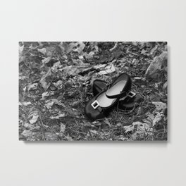 Patent Leather Shoes 2 Metal Print