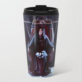 Emperor Palpatine On His Throne Travel Mug