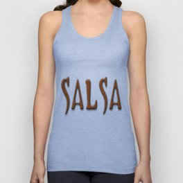 Salsa Barberian Dark Unisex Tank Top
