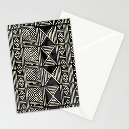 Tribal mud cloth pattern Stationery Cards
