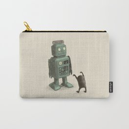 Robot Vs Alien Carry-All Pouch