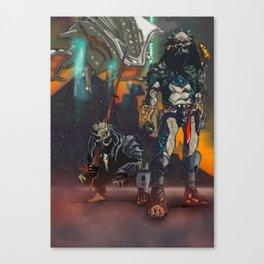 Predator Homeworld Canvas Print