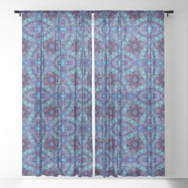 Tranquility Tessellation Sheer Curtain