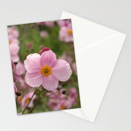 Japanese Anemone Stationery Cards