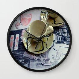 Hava Cuppa? Wall Clock