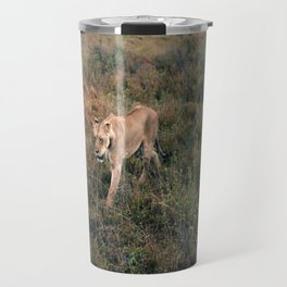 Lone Lion. Travel Mug