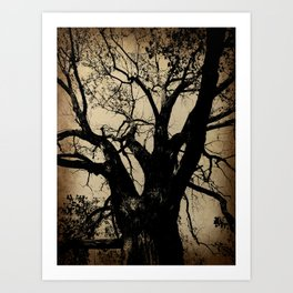 The imaginary tree Art Print