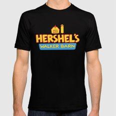 Hershel's Walker Barn Mens Fitted Tee Black X-LARGE