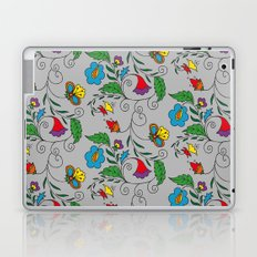 Ethnic Floral Flow Laptop & iPad Skin