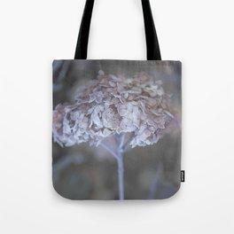 Frost Petals Of Hydrangea #decor buyart #society6 Tote Bag