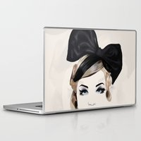 bows Laptop & iPad Skins featuring Bows by SoulDeep