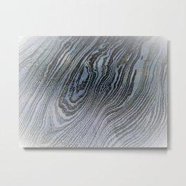 Pale Damascus Steel Metal Print