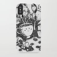 coffe iPhone & iPod Cases featuring Smile coffe by Kisava NiCh