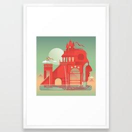 Fortress Framed Art Print