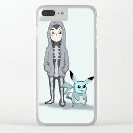Ash Darko Clear iPhone Case