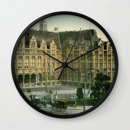 Vintage Liège Belgium governor's palace Wall Clock