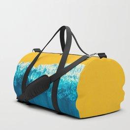 Yellow Tide Duffle Bag