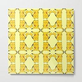 Pika pattern Metal Print