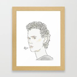 Henke Framed Art Print