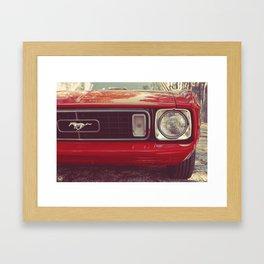 Stang Strong Framed Art Print