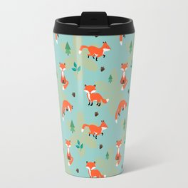 Foxes Foxes Foxes Travel Mug