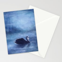 As The Swan In The Evening Stationery Cards