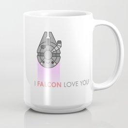 i FALCON love you Coffee Mug