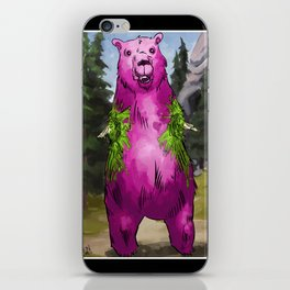Armless Bear in Nature iPhone Skin
