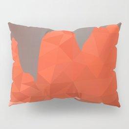 Torres del Paine National Park Low Poly Art Pillow Sham
