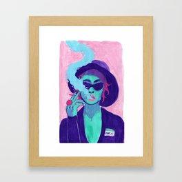 Marla Singer Framed Art Print