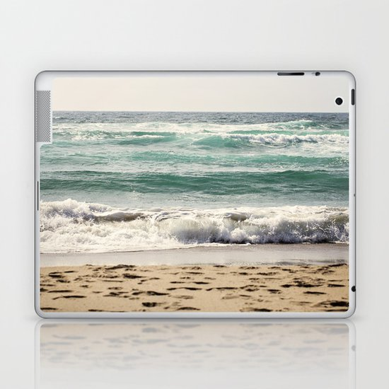 Walking In The Sand Laptop & iPad Skin