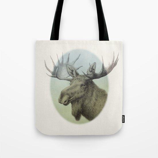 Moose head elk Tote Bag