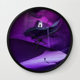 Desert Wolf by GEN Z Wall Clock