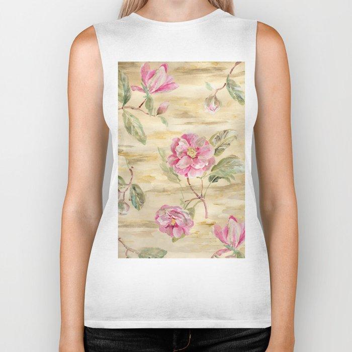 magnolia gold Biker Tank