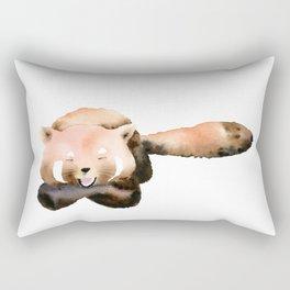 Red Panda - Animal Art Rectangular Pillow