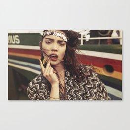 Justine Canvas Print