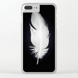Whitefeather Clear iPhone Case