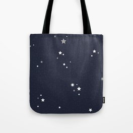 Starry Night Sky Tote Bag