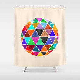 Geodesic II Shower Curtain