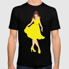 Belle SMALL Black Mens Fitted Tee