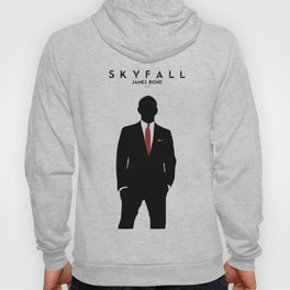 Skyfall, James Bond,minimalist design , alternative poster, Daniel Craig, Javier Bardem, Sam Mende Hoody