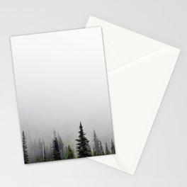 Fog Forest II Stationery Cards