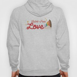 Label Free Love  inspired by The L Word Hoody