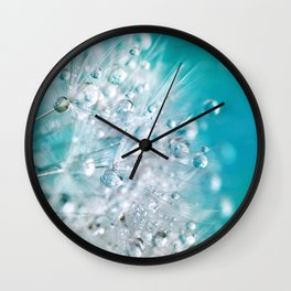 dandelion 3 Wall Clock